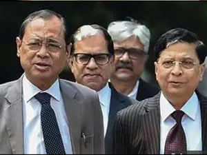 CJI Dipak Misra officially recommends Ranjan Gogoi's name as his successor