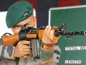 Central forces and special police units to get 36,000 modern AK assault rifles