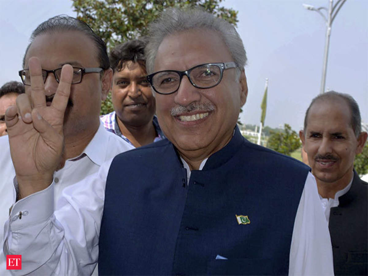 Pakistan's President: Pakistan new President Arif Alvi is