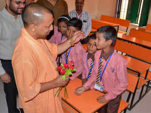 adityanath-school-PTI