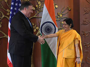 The first 2+2 summit between India and USA will begin today