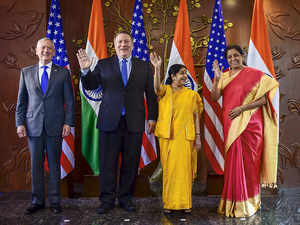 India and US hold inaugural edition of 2+2 talks