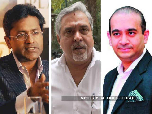 Lalit Modi, Vijay Mallya & Nirav Modi