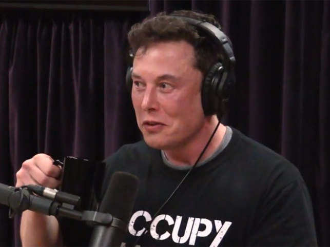 Elon Musk smokes weed, drinks whiskey on California Comedian's show