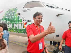 Spicejet CMD Ajay Singh calls for cut in taxes on jet fuel to boost