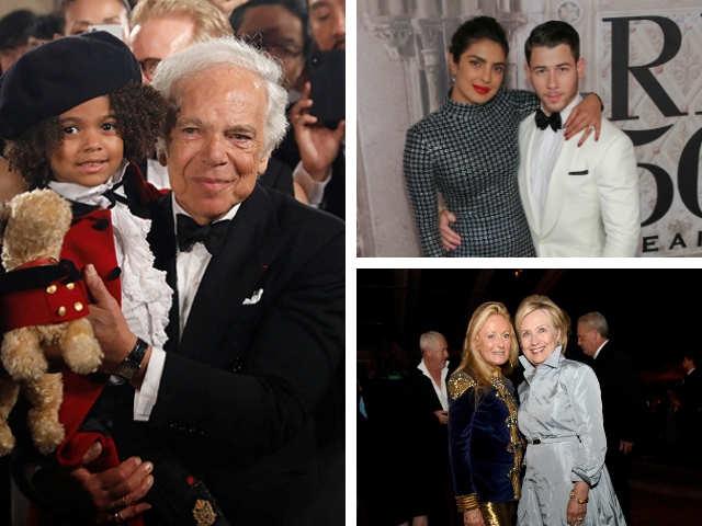 cc553d5e Ralph Lauren: Priyanka-Nick, Hillary Clinton Add To The Glitter At ...
