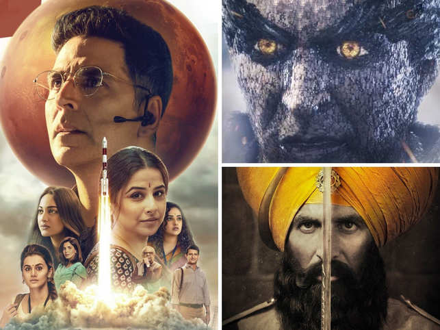 Bollywood actor Akshay Kumar, who became 2019's fourth highest-paid actor in the world according to Forbes, is winning hearts with his performance in 'Mission Mangal'.  Apart from his highest grossing film so far, the other movies have kept the cash registers ringing for the past few years.  From 'Kesari' to 'Housefull' series, 12 of Kumar's movies have entered the Rs 100-crore club, and taken the box office by storm.  On his 52nd birthday, here's a look at the blockbusters by Khiladi of Bollywood.