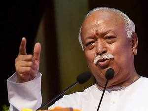 Mohan Bhagwat calls for Hindu unity, says wild dogs can destroy lone lion
