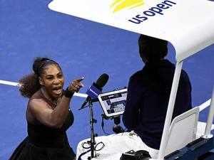Serena Williams calls chair umpire a 'thief' as Naomi Osaka wins US Open title