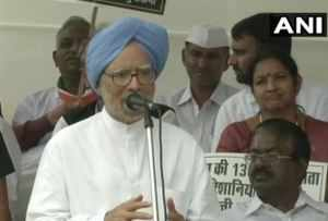 Time to change Modi-led government will come soon: Manmohan Singh