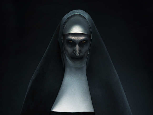 the nun' review: nothing like 'the conjuring', yet scary - the ...