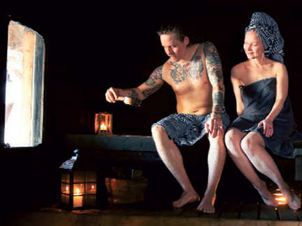 In the land of the midnight sun: Try the traditional sauna, eat billberry pie when in Finland