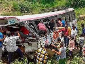 Telangana bus tragedy: Death toll rises to 53, CM KCR announces Rs 5 lakh ex gratia