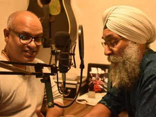 Shirshendu (Shandy) Banerjee and Arvinder Singh (Sunny)