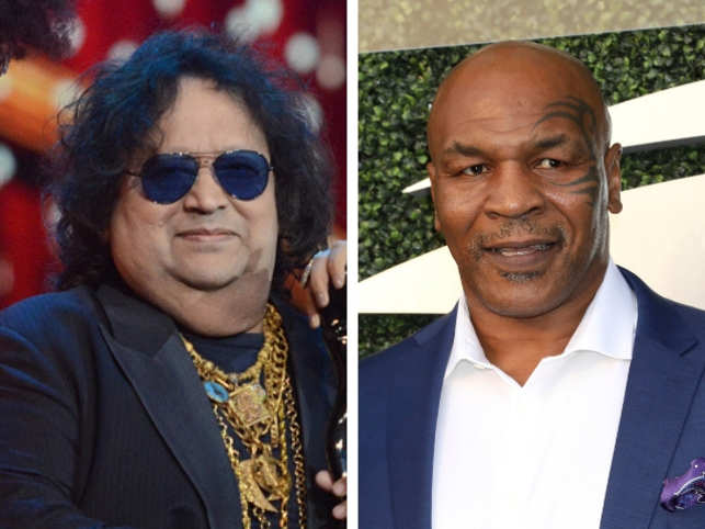 Bappi Lahiri makes jingle for Mike Tyson