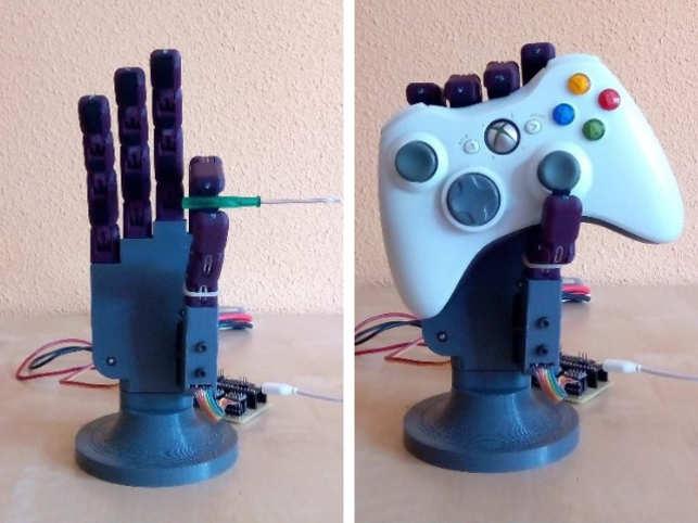 Dextra - a robotic hand