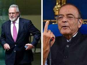 FM Jaitley rubbishes Vijay Mallya's claims in a blog, calls it 'factually false'