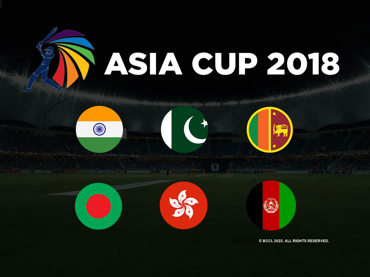 Asia Cup 2018: Full list of players of the six participating