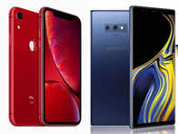 Apple iPhone XR (Rs 76,900) vs Samsung Galaxy Note 9 (Rs 67,900): What's on offer?