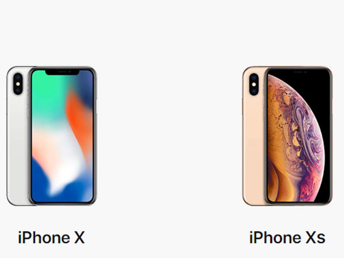 new product 50ee4 c6a00 Apple iPhone Xs vs iPhone X: Here's what is different - The Economic ...