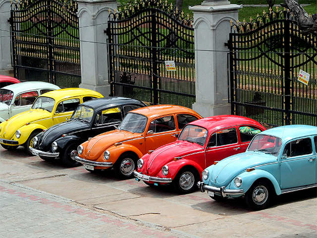 The end of an era! Volkswagen to hit the brakes on its iconic Beetle cars in 2019