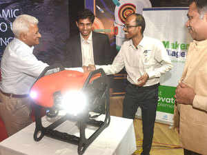 Kochi-based company develops India's first underwater robotic drone