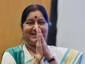 In Moscow, Sushma Swaraj emphasises 'importance' of India-Russia ties