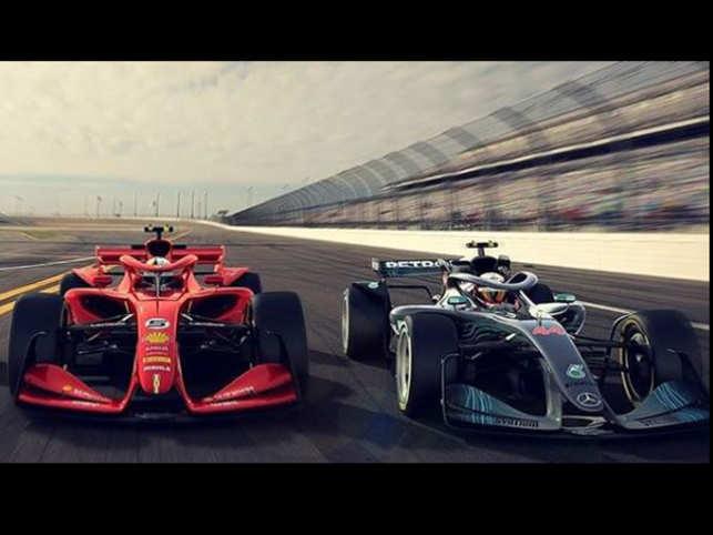 New Formula 1 cars