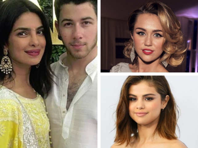 Nick Jonas's current relationship status may be committed, engaged to India's most-famous import to Hollywood, Priyanka Chopra; the singer-actor has dated a slew of ladies in the past. 	 	The Disney star who came into the limelight from a young age learnt early-on to be able to juggle to work and his love life. 	 	While Jonas didn't shut down a Tiffany & Co store for these ladies, they're certainly worth remembering. 	 	Here's a look at the lovely ladies on the singer-actor's 26th birthday: