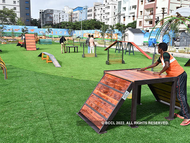 India's first exclusive dog park comes up in Hyderabad