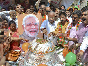 How India celebrated Prime Minister Narendra Modi's birthday