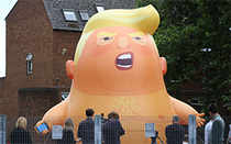 How London is going to welcome Trump