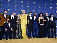Emmys 2018: 'Game Of Thrones' storms on-stage winning best drama series