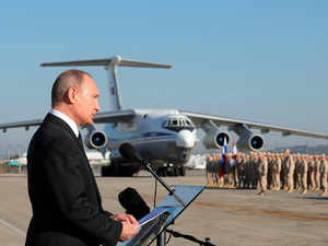 Russia says military jet with 14 servicemen aboard vanishes from radar off Syria