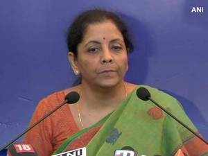 Sidhu could have avoided hugging Pak Army chief: Sitharaman