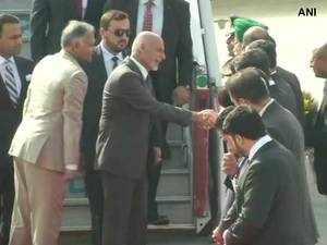 Watch: Afghanistan President Ashraf Ghani arrives in Delhi