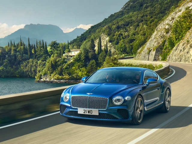 The running pro: 2019 Bentley Continental GT coupe goes from 0 to 60 mph in 3.6 seconds