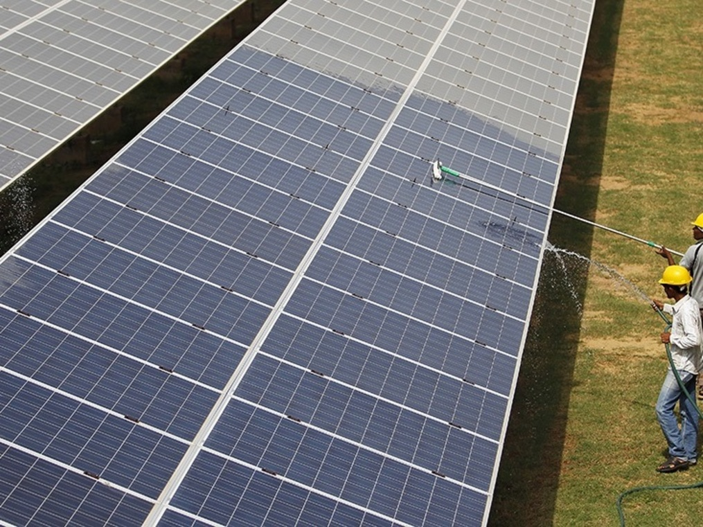 The sun is setting on smaller solar-power players. Firms from the Shapoorji Pallonji group and Essel are among 10 put on the block.