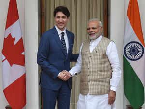 Trudeau-Modi-