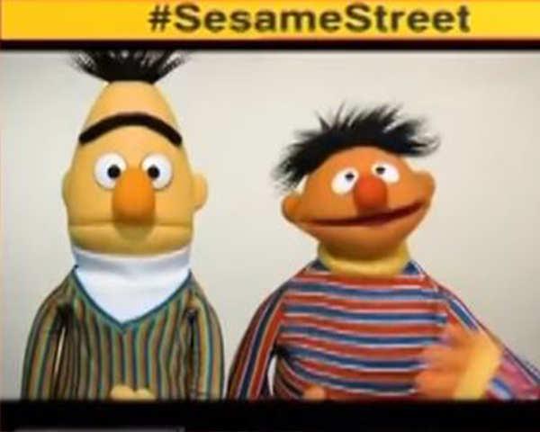 sesame street show producers say bert and ernie best friends not