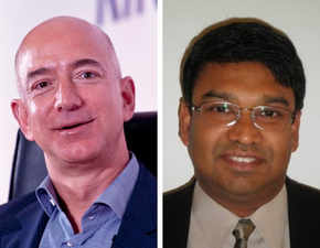 At Princeton, Jeff Bezos had a tough time doing algebra; Twitter finds Lankan friend who helped him