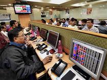 Sensex-brokers-PTI