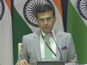 Indo-Pak talks: No resumption of dialogue, says Raveesh Kumar, MEA