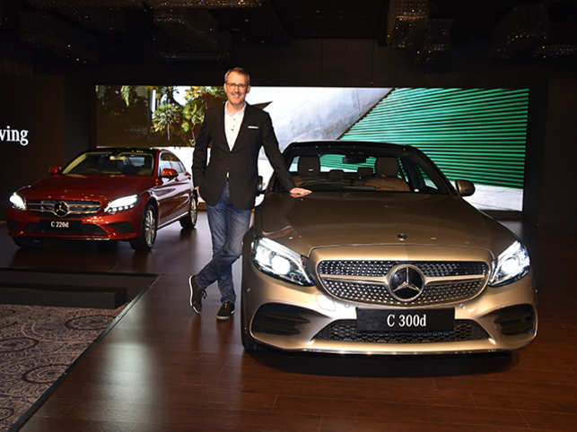 C Class Mercedes Benz India Unveils New C Class With Bs Vi Diesel