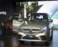 Merc unveils new C-Class at Rs 40 lakh