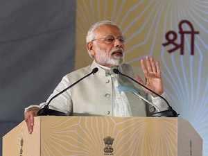 Delhi: PM Modi lays foundation stone of world-class convention centre