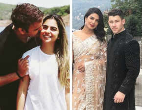 Isha Ambani-Anand Piramal engagement: Priyanka Chopra stuns in a saree, Nick Jonas is dapper in black