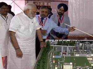Odisha: PM Modi lays foundation stone of Talcher Fertilizer Plant
