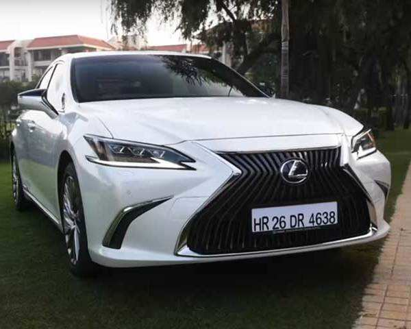 Autocar Show: 2018 Lexus ES 300h First Drive Review | The Economic Times  Video