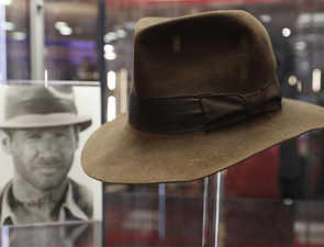 Indiana Jones's signature fedora fetches over $500,000 at auction; Han Solo's jacket remains unsold